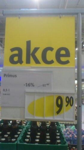 Původní cena 11,90 Kč, akční cena po slevě 16% 9,90 Kč